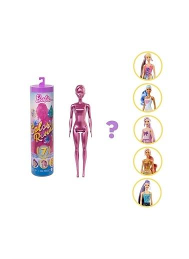 Barbie Gwc55/Gtr93 Barbie Color Reveal Renk Değiştiren Işıltılı Sürpriz Bebekler Serisi Renkli